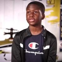 Así es Caleb Anderson el genio de 13 años que estudia ingeniería aeronáutica