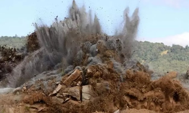 Ministerio de Defensa avisa empresa realizará trabajos con explosivos en Verón