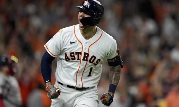 Altuve y Correa dan triunfo a Astros ante Boston