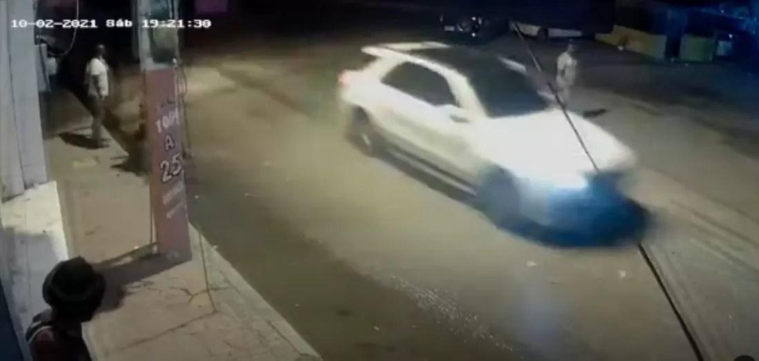 Circula video de la persecución a Leslie Rosado
