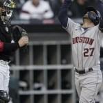 Astros aplastan a Medias Blancas y van por el Campeonato de la Liga Americana