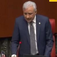 """""""Cállese que estoy hablando"""": video de la agria discusión entre dos senadores"""