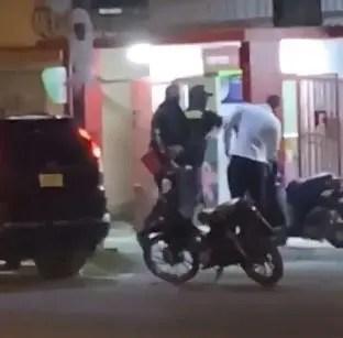La Policía sobre asalto a farmacia en La Vega