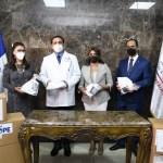 Ministerio de Salud recibe donación de 445 mil mascarillas