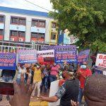 Exempleados de Alcaldía Santo Domingo Norte reclaman pago de prestaciones