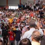 Leonel juramenta 2,924  nuevos miembros en la Fuerza del Pueblo