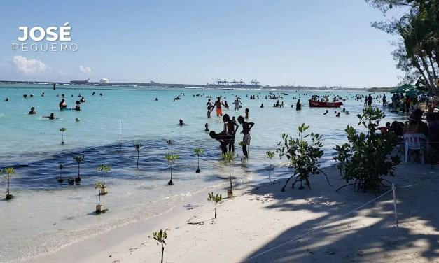 Video: El gobierno recula y ahora no hay peligro en bañarse en la Playa de Boca Chica