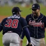 Bravos vencen a Dodgers y avanzan a la Serie Mundial de béisbol