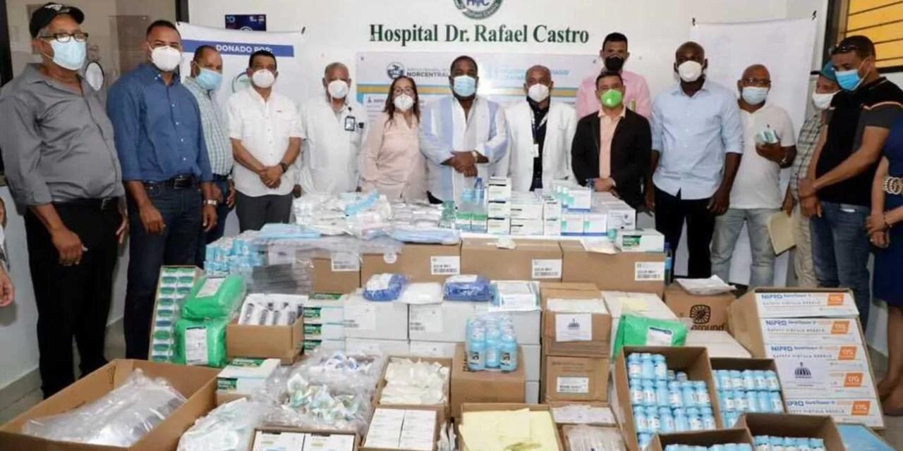 Gobierno entrega RD$26 millones en medicamentos en Santiago