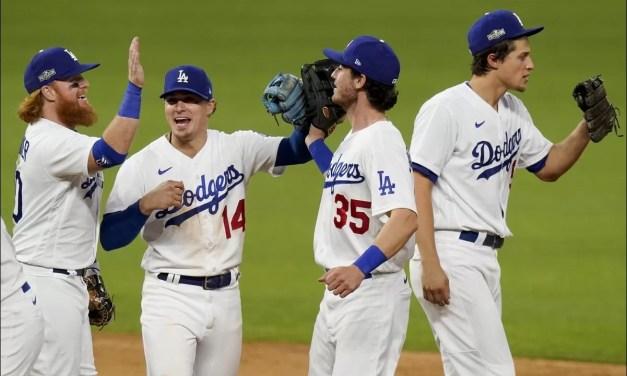 Los Dodgers vienen de atrás; los Astros igualan serie LA