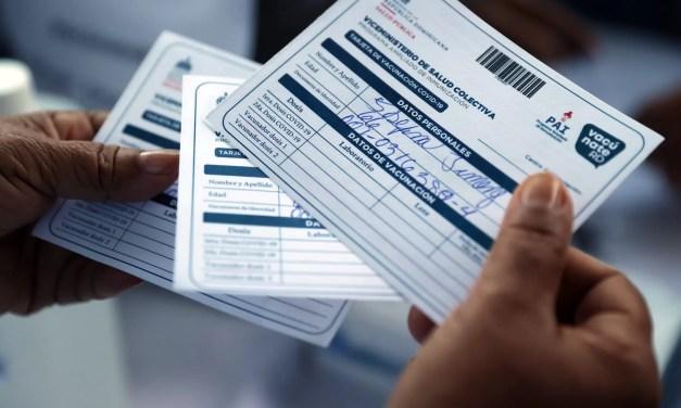 Recuerda, a partir del lunes los bancos pedirán tarjeta de vacunación