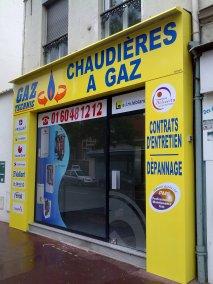 DOYEN HABILLAGE DE FACADE GAZ TECHNIC SAINT MAUR