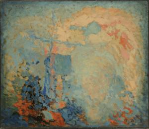 """Pierre Molinier, """" La Prière """", huile sur panneau, 1930. ©️ Édouard Robin. Collection Enseigne des Oudin"""
