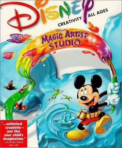 """Jaquette du logiciel interactif Disney Magic Artist Studio pour l'article """"Pédagogie 2.0 : Ma Vision De L'Éducation"""""""
