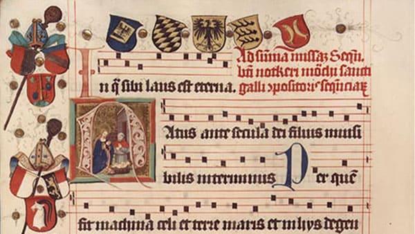 """Exemples de neumes pour l'article """"Les Notes De Musique Sur La Portée"""""""
