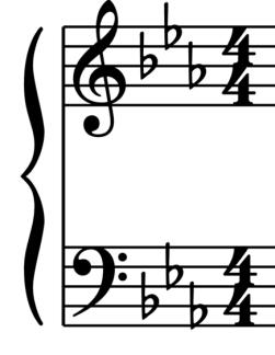 """Altérations à la clé en Clé de Sol et Clé de Fa pour l'article """"Les Altérations En Musique"""""""