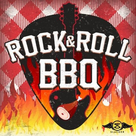 """Affiche d'un Barbecue Rock & Roll pour l'article """"Jouer En Groupe"""""""