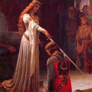 """Image de l'adoubement d'un chevalier pour l'article """"Développer Son Oreille"""""""
