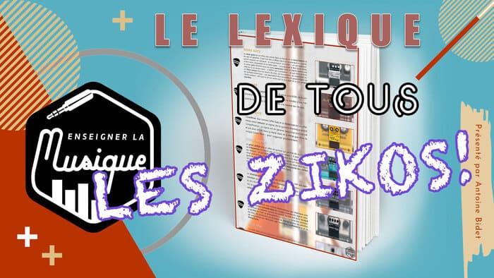 Bonus 3 - Lexique Des Musiciens