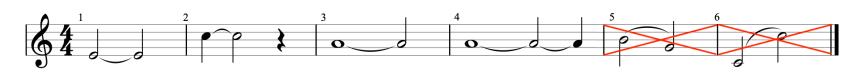 """Divers exemples de liaisons de prolongation pour l'article """"La Liaison En Musique"""""""
