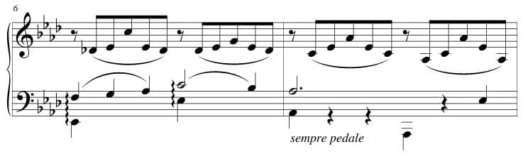 """Exemple de liaison d'expression pour l'article """"La Liaison En Musique"""""""