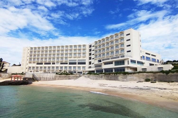 みゆきビーチホテル海側