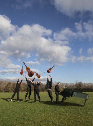 1- Ensemble Calliopée - Quintette à cordes © Jeff Ropars (2017)