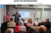 Le conseiller municipal écologiste se porte candidat pour les municipales 2020 contre le maire sortant Alain Kelyor (DVD), qui brigue un cinquième mandat.