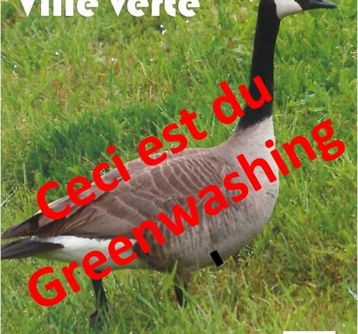 Greenwashing à Emerainville !! Les élections approchent.