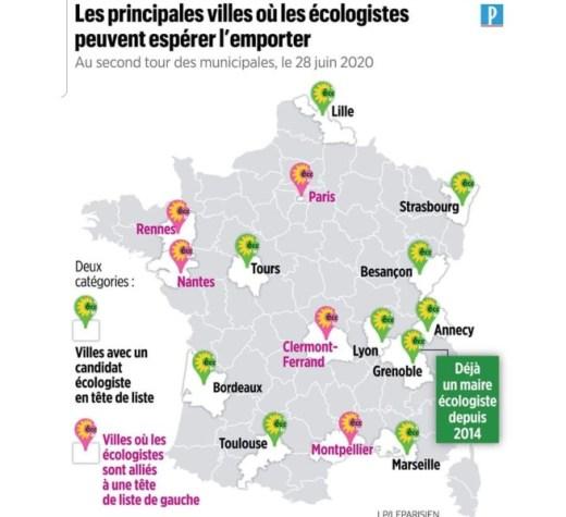 Vague verte annoncée sur la France…