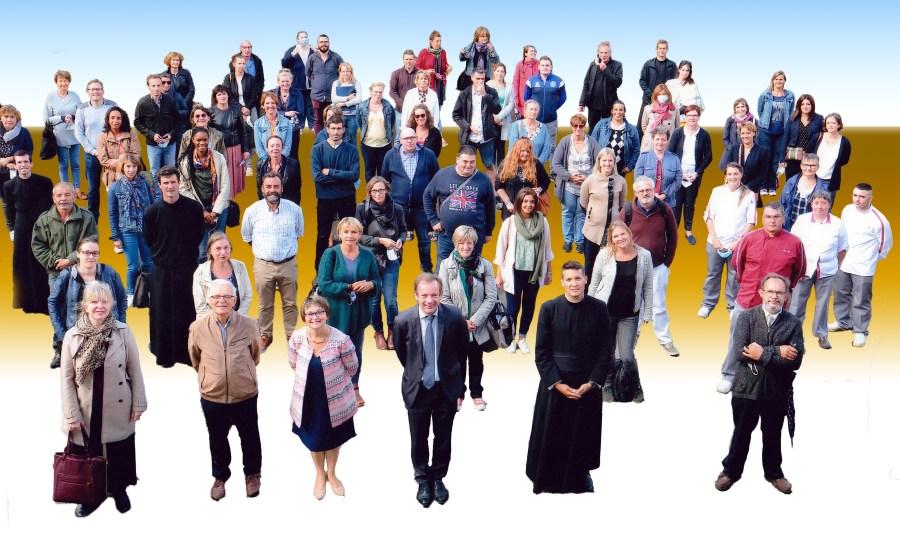 Photo de rentrée Ensemble Scolaire Bignon 2020