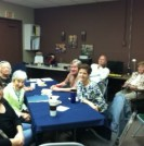 Friendly faces are always welcome at our E-Squared Groups!