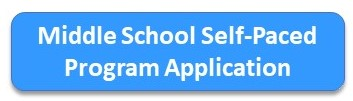 Middle School Self-Paced Program Application Button