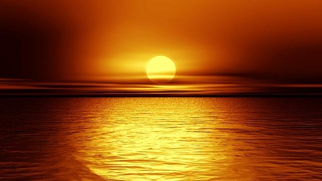 cara memoto sunrise dan sunset
