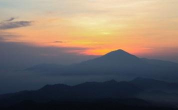 Gunung Tangkuban Perahu tempat wisata bandung