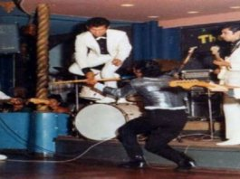 The Tielman Brothers showtime at palais de danse scheveningen summer 1965