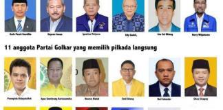 Anggota Dewan DPRRI yang tidak WO Walk Out saat Sidang Paripurna PILKADA 26 September 2014