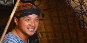 Hengky Krisnawan, satu-satunya pemain bundengan yang tersisa di Wonosobo, Jawa Tengah