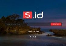 URL Shortener S.id Tanah Lot Bali