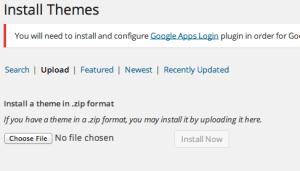 cara install template wordpress terbaru