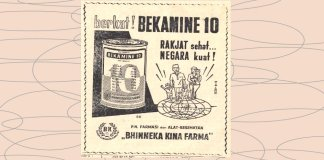 Bekamine 10: Multivitamin Indonesia yang Telah Diproduksi Sejak Masa Kemerdekaan