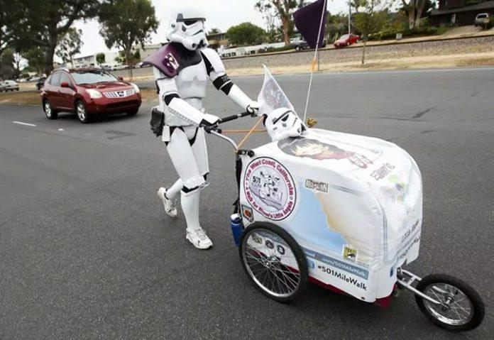 Perjalanan Star Wars Berjarak Lebih Dari 645 Mil
