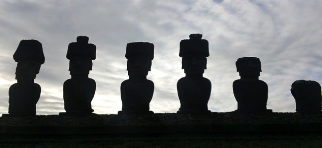 Moai Easter Island Statue - Teori Fungsionalisme Struktur