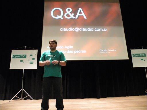 Adotando Agile: o caminho das pedras - Cláudio Teixeira
