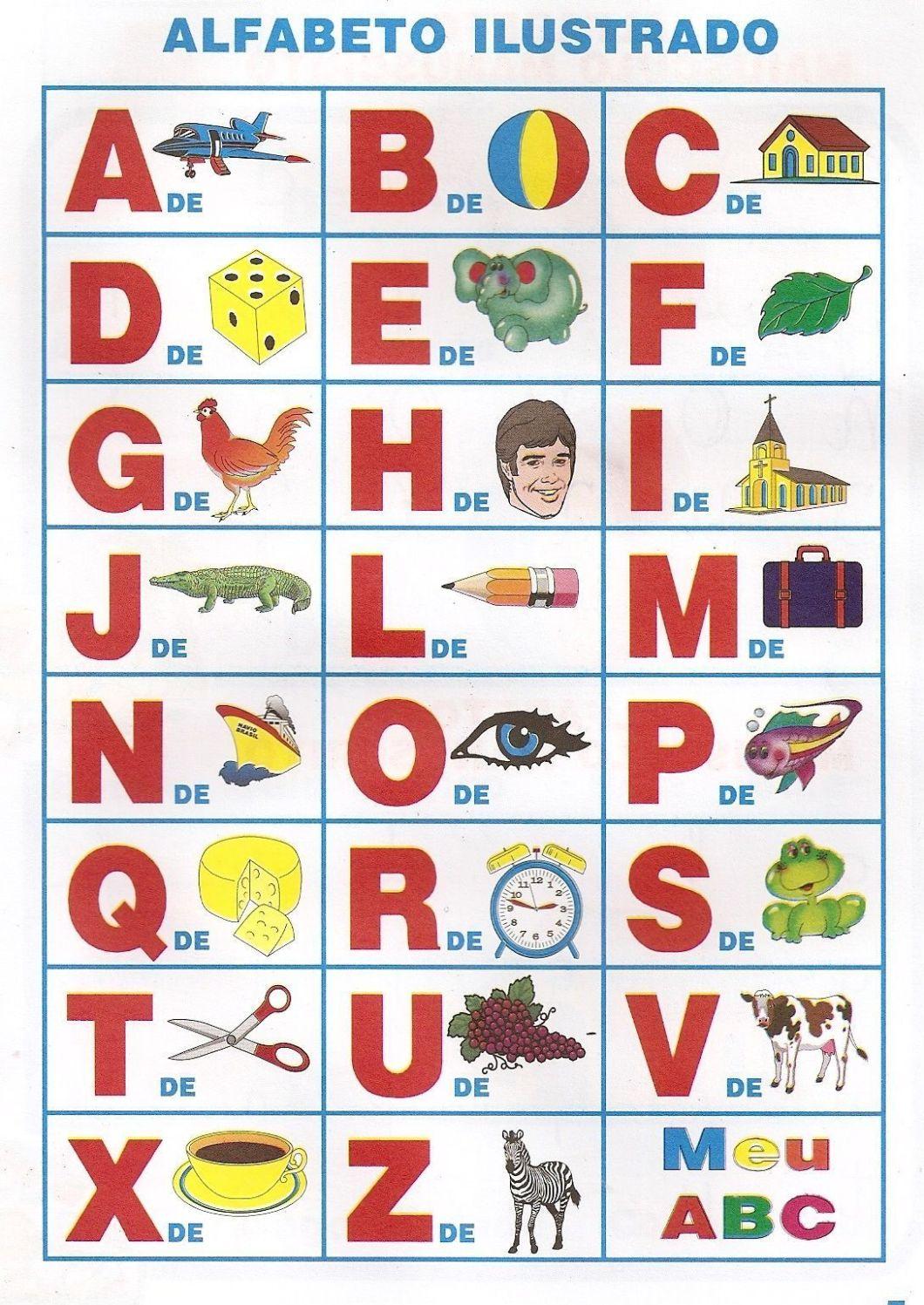 abecedario para imprimir educacao infantil