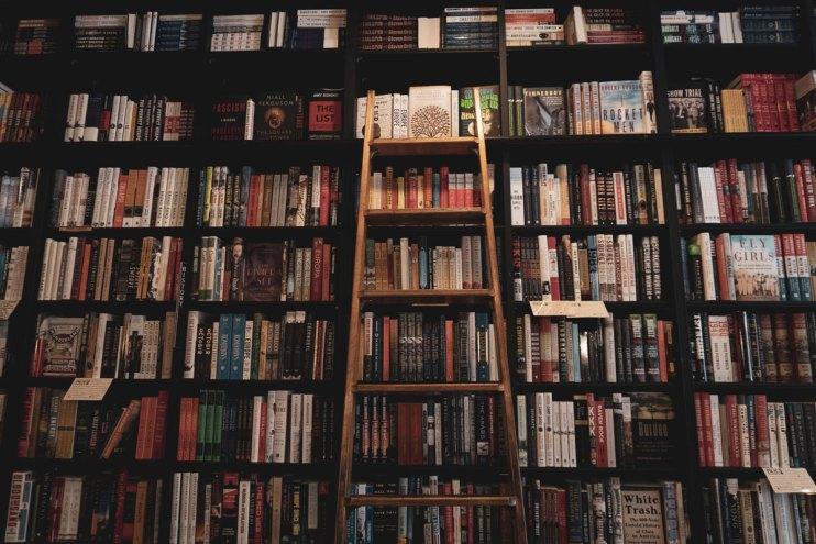 ensofic ray books on a book shelf