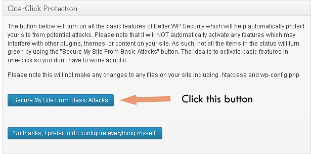 auto configure wordpress backup