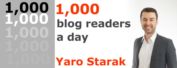 1000 blog readers