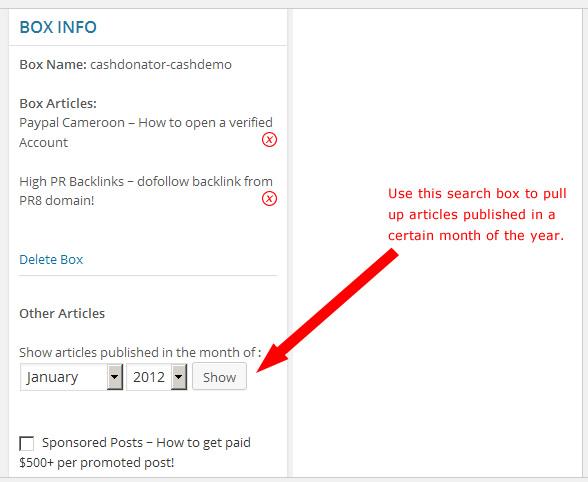 cashdonator search box