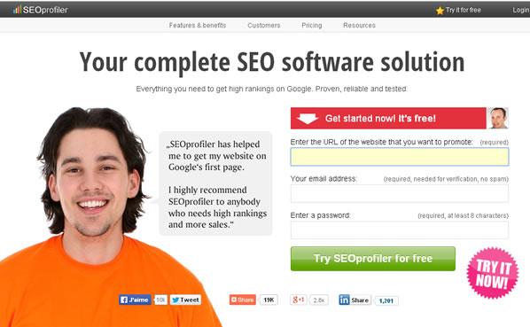webmeup replacement - seoprofiler